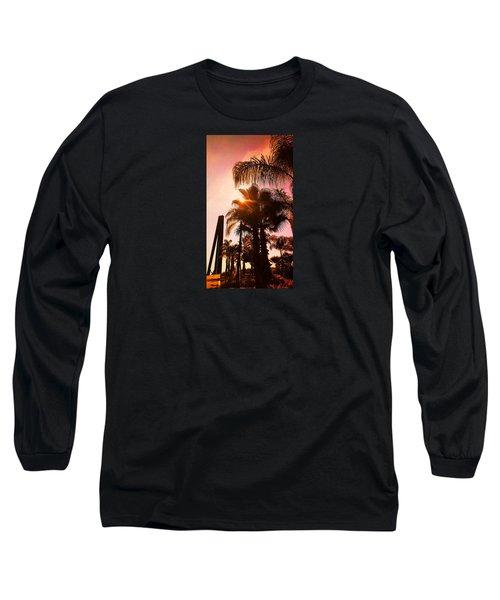 Promenade Des Anglais, Nice-nizza, France Long Sleeve T-Shirt