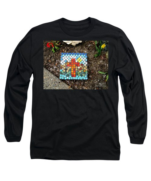 No Stepping Stone Long Sleeve T-Shirt by Marie Neder