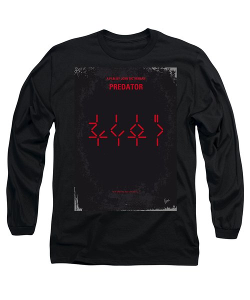 No066 My Predator Minimal Movie Poster Long Sleeve T-Shirt