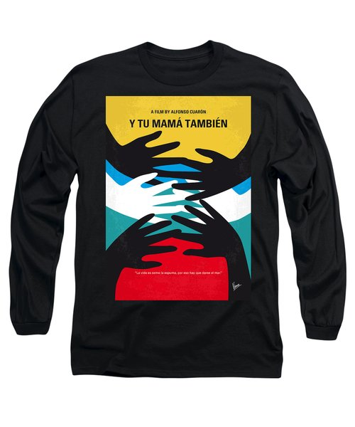 No468 My Y Tu Mama Tambien Minimal Movie Poster Long Sleeve T-Shirt