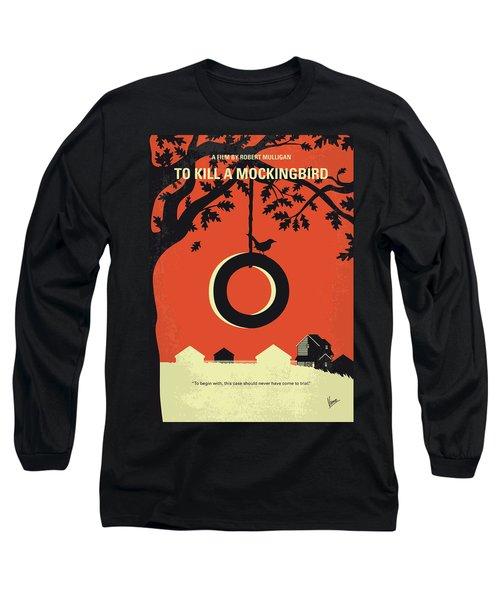 No844 My To Kill A Mockingbird Minimal Movie Poster Long Sleeve T-Shirt