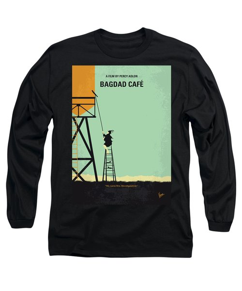 No964 My Bagdad Cafe Minimal Movie Poster Long Sleeve T-Shirt