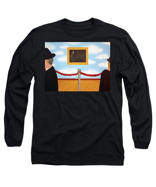 Nobody Noticed Long Sleeve T-Shirt by Thomas Blood