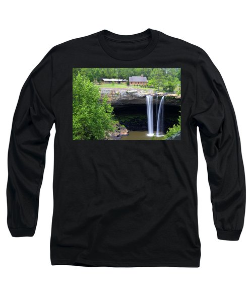 Noccolula Falls Gadsden Alabama Long Sleeve T-Shirt