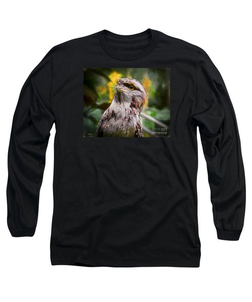 Long Sleeve T-Shirt featuring the painting Nocturnal Beauty by Judy Kay