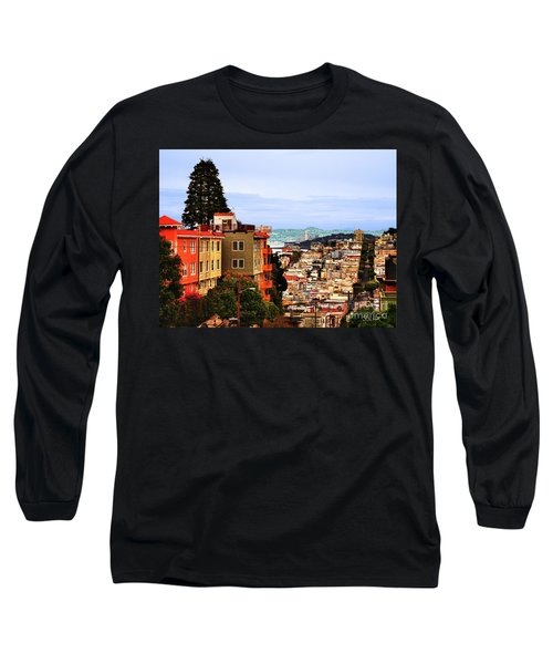 Looking Toward North Beach Long Sleeve T-Shirt