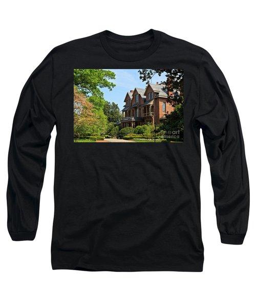 North Carolina Executive Mansion Long Sleeve T-Shirt