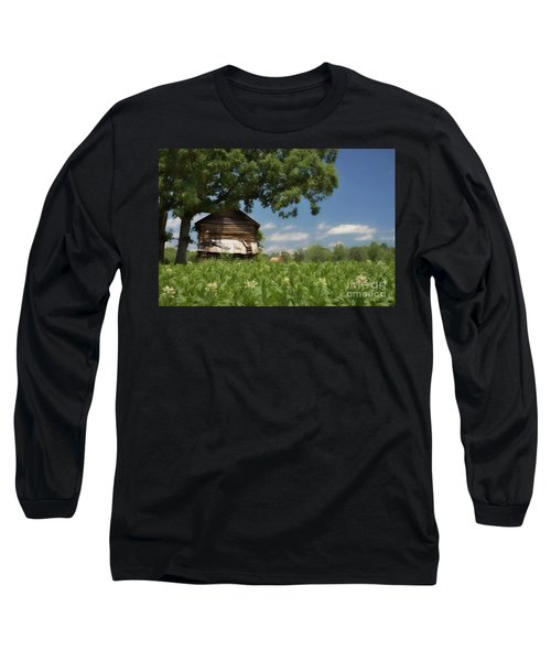 Long Sleeve T-Shirt featuring the photograph North Carolina Tobacco by Benanne Stiens