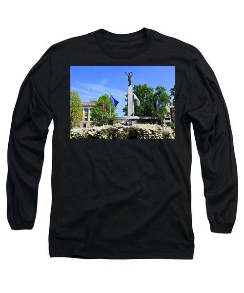 North Carolina Veterans Monument Long Sleeve T-Shirt