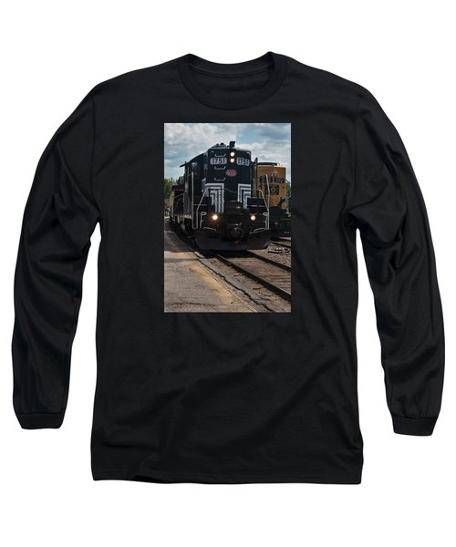 Conway Scenic Railroad - New Hampshire Long Sleeve T-Shirt by Suzanne Gaff