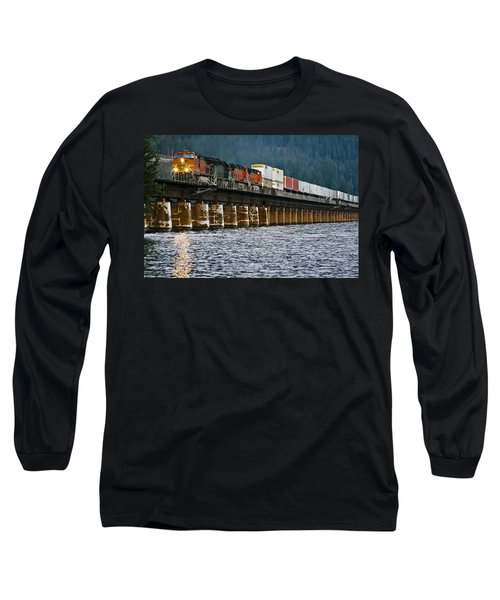 Northbound At Dusk Long Sleeve T-Shirt