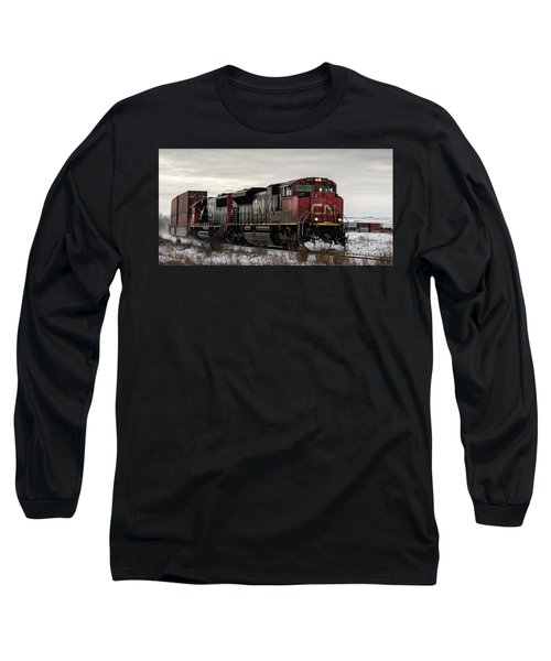 Northbound Double Stack Long Sleeve T-Shirt