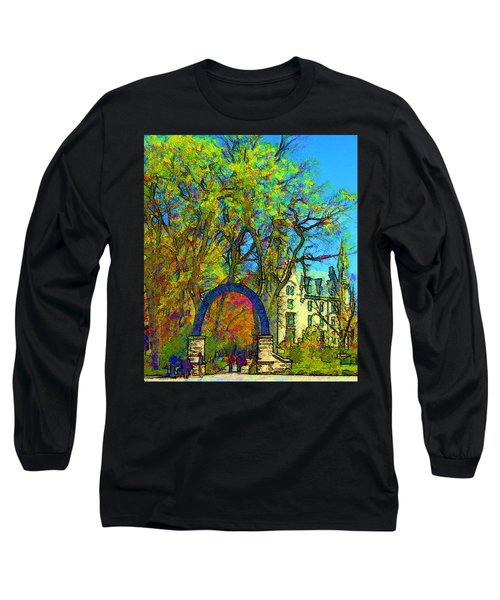 Northwestern Arch  Long Sleeve T-Shirt