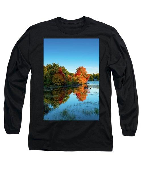 Northwood Lake Autumn Long Sleeve T-Shirt