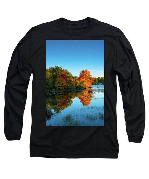 Northwood Lake Autumn Long Sleeve T-Shirt