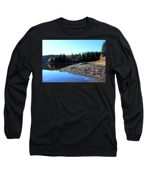 Norwegian Autumn Landscape  Long Sleeve T-Shirt