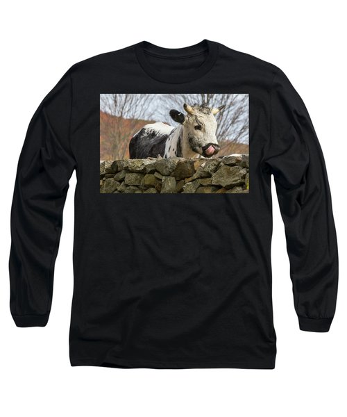 Long Sleeve T-Shirt featuring the photograph Nosey by Bill Wakeley
