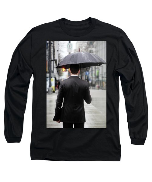 Not Me  Long Sleeve T-Shirt by Empty Wall