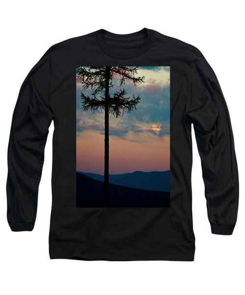 Long Sleeve T-Shirt featuring the photograph Not Quite Clearcut by Albert Seger