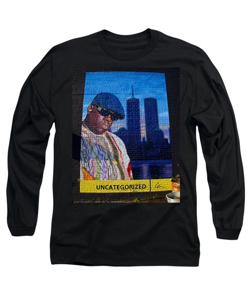 Notorious B.i.g. Long Sleeve T-Shirt by  Newwwman