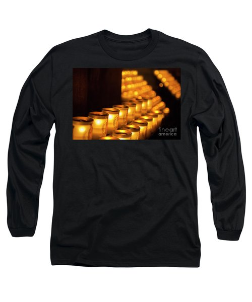 Notre Dame Candles Long Sleeve T-Shirt