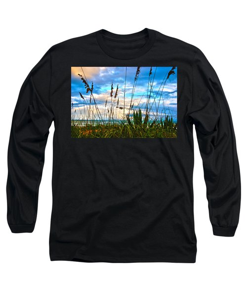 November Day At The Beach In Florida Long Sleeve T-Shirt