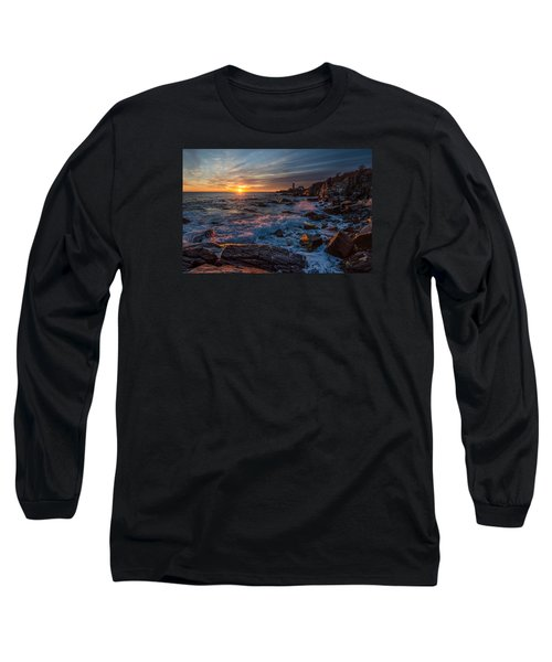 Long Sleeve T-Shirt featuring the photograph November Morning by Paul Noble