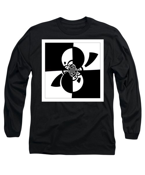Long Sleeve T-Shirt featuring the digital art Now And Forever by Wendy J St Christopher