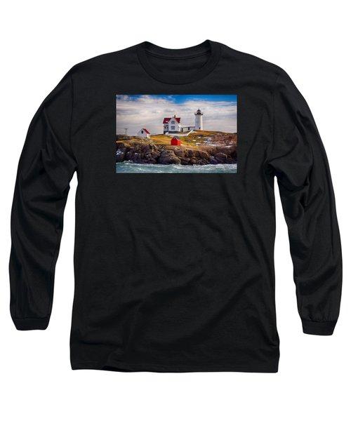 Nubble In Winter Long Sleeve T-Shirt
