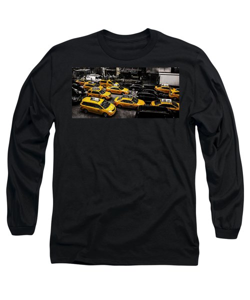 Nyc Cabs Long Sleeve T-Shirt
