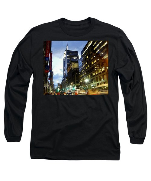 Nyc Fifth Ave Long Sleeve T-Shirt