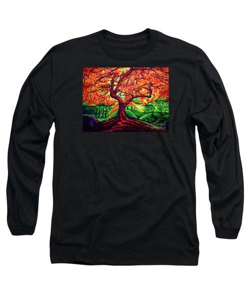 OAK Long Sleeve T-Shirt by Viktor Lazarev