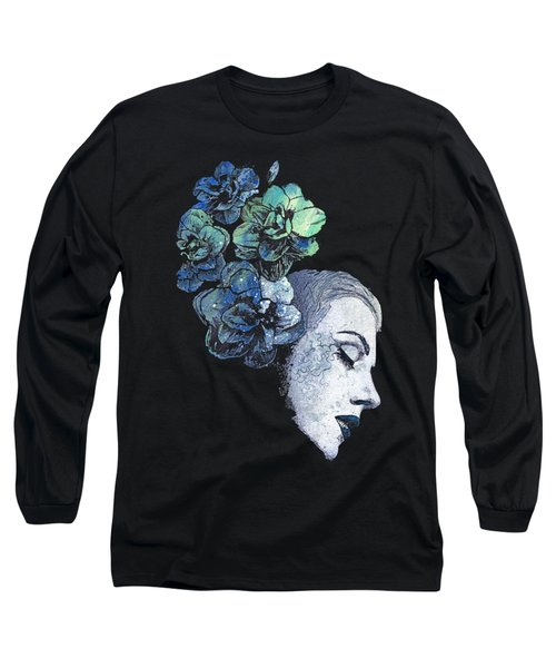 Obey Me - Blue Long Sleeve T-Shirt
