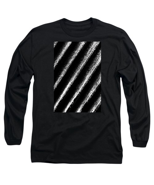 Oblique Line Long Sleeve T-Shirt