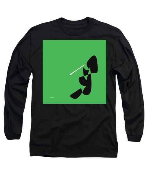 Oboe In Green Long Sleeve T-Shirt
