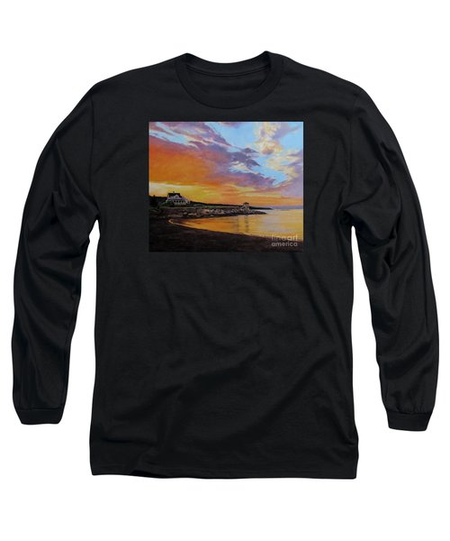 Observatory Point, Rockport, Ma Long Sleeve T-Shirt