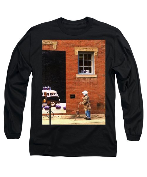 Observing Building Art Long Sleeve T-Shirt
