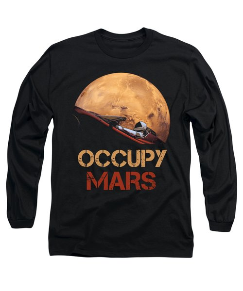 Occupy Mars Long Sleeve T-Shirt