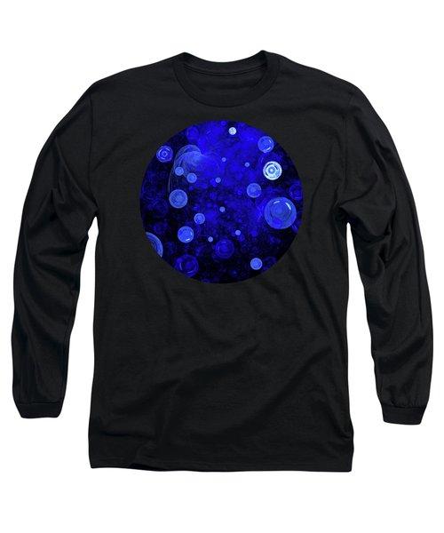 Long Sleeve T-Shirt featuring the digital art Ocean Gems by Menega Sabidussi