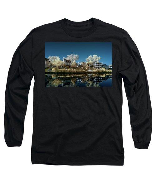 Ocean Grove Nj Long Sleeve T-Shirt by Paul Seymour