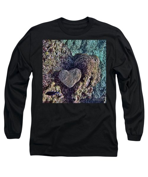 Ocean Love Long Sleeve T-Shirt by Peggy Hughes