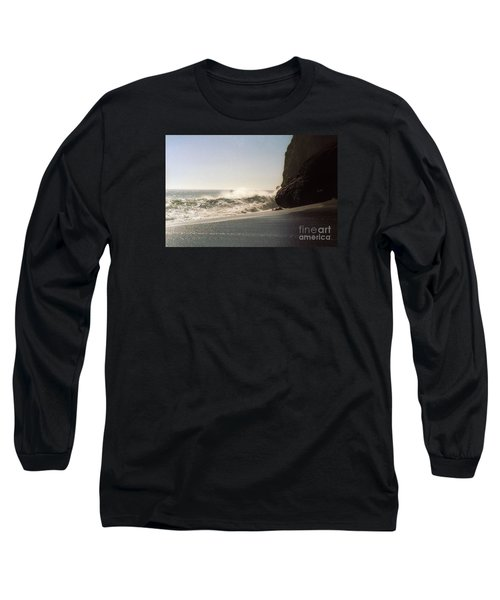 Ocean Rock Beach Headlands Long Sleeve T-Shirt