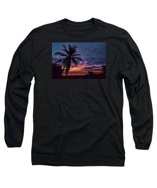 Oceanfront Before Sunrise Long Sleeve T-Shirt