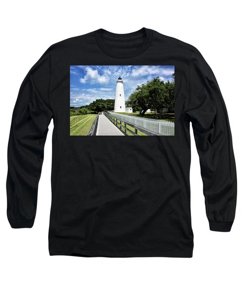 Ocracoke Light Long Sleeve T-Shirt