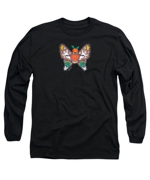 October Butterfly Long Sleeve T-Shirt