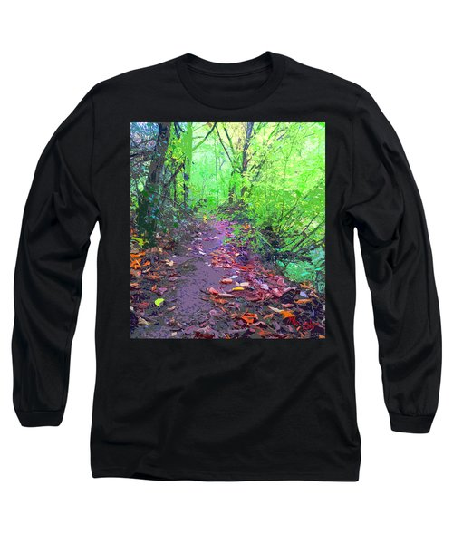 October Forest Pathway Long Sleeve T-Shirt