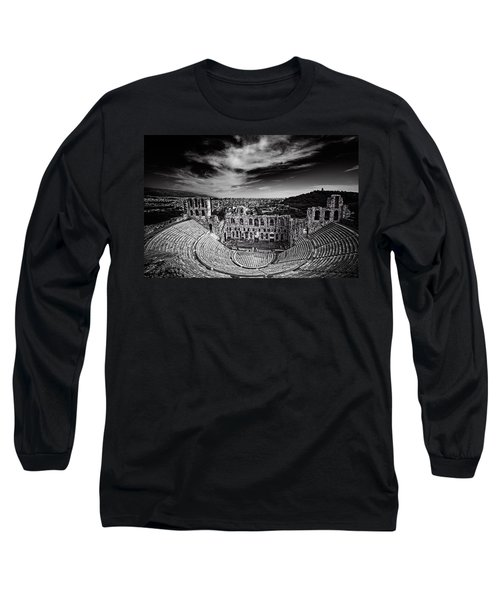 Odeon Of Herodes Atticus Long Sleeve T-Shirt