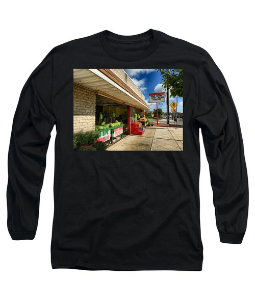 Off To The Market Long Sleeve T-Shirt