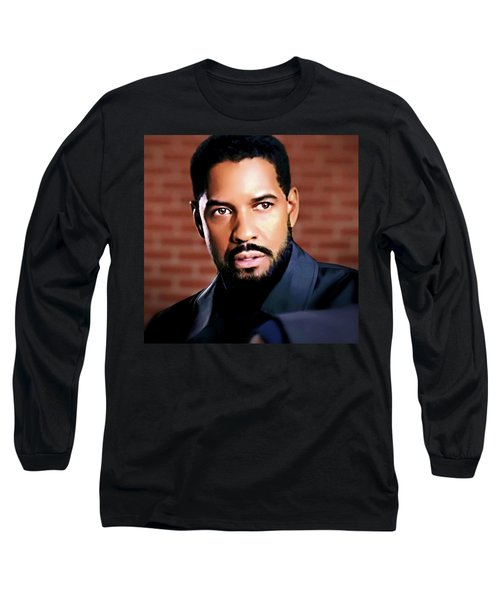Oh, Lawd Denzel Long Sleeve T-Shirt