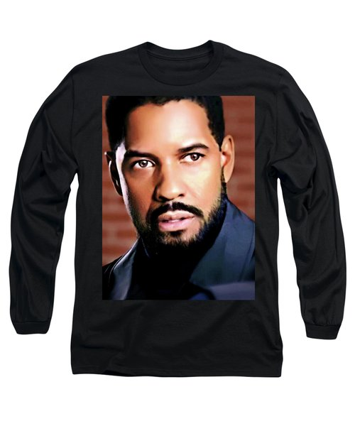 Oh, Lawd Denzel Long Sleeve T-Shirt